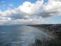 Golfo di Castellammare panorama del golfo dalla periferia est della città - 9 gennaio 2012  - Castellammare del golfo (344 clic)