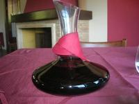 decanter e vino - Baglio Arcudaci - 27 maggio 2012  - Bruca (590 clic)