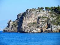 Baia di Guidaloca - costa: particolari - 21 settembre 2012  - Castellammare del golfo (1120 clic)