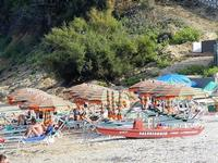 Baia di Guidaloca - lido - 21 settembre 2012  - Castellammare del golfo (2436 clic)