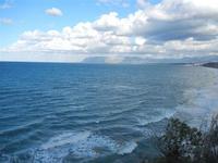 Golfo di Castellammare panorama del golfo dalla periferia est della città - 9 gennaio 2012  - Castellammare del golfo (410 clic)