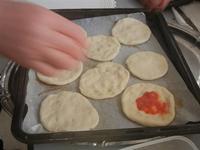 pizzette preparazione pizzette - Progetto Continuità - I.C. Pascoli - 10 gennaio 2012  - Castellammare del golfo (732 clic)