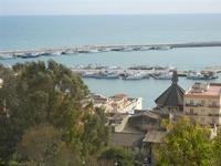 panorama porto dal belvedere - 26 febbraio 2012  - Sciacca (713 clic)