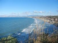Golfo di Castellammare panorama del golfo dalla periferia est della città - 10 gennaio 2012  - Castellammare del golfo (336 clic)