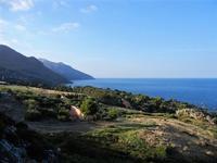 panorama periferia e golfo di Castellammare - 21 settembre 2012  - Scopello (1122 clic)