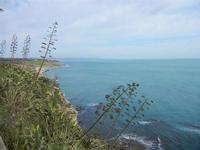 panorama costiero dal belvedere - 26 febbraio 2012  - Sciacca (1191 clic)