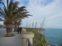 panorama costiero dal belvedere - 26 febbraio 2012  - Sciacca (1636 clic)
