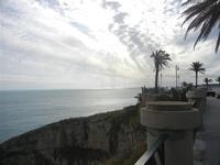 panorama costiero dal belvedere - 26 febbraio 2012  - Sciacca (1441 clic)