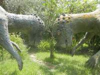 BIOPARCO di Sicilia - dinosauri - 17 luglio 2012  - Villagrazia di carini (296 clic)