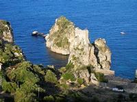 torre di avvistamento, faraglioni e tonnara - 21 settembre 2012  - Scopello (2643 clic)