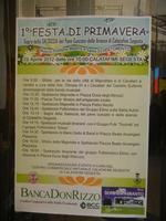 Festa di Primavera - locandina - Sagra della salsiccia, del pane cunzato e dell'arance di Calatafimi Segesta - 22 aprile 2012  - Calatafimi segesta (484 clic)