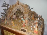 Chiesa della Madonna del Giubino - presepe - 22 aprile 2012  - Calatafimi segesta (1003 clic)