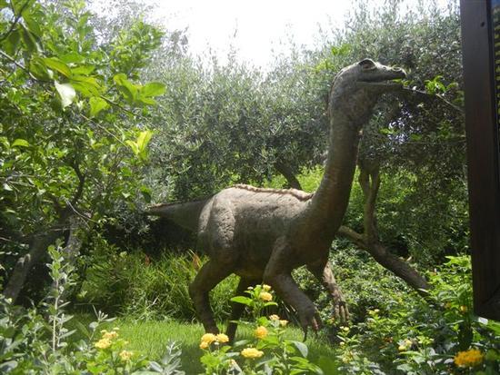 BIOPARCO di Sicilia - dinosauri - VILLAGRAZIA DI CARINI - inserita il 20-Apr-15