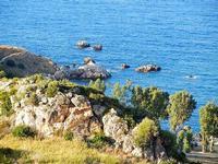 costa e scogli - 21 settembre 2012  - Scopello (1542 clic)