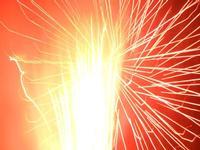 spettacolo pirotecnico - festeggiamenti in onore di Maria SS. dei Miracoli - 16 giugno 2012  - Alcamo (259 clic)