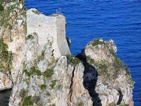 torre di avvistamento e faraglioni - 21 settembre 2012  - Scopello (1534 clic)