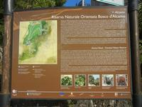 R.N.O. Bosco d'Alcamo - Monte Bonifato - cartello (248 clic)