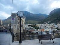 Ponte della Porta e panorama città - 19 settembre 2012  - Castellammare del golfo (268 clic)