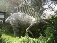 BIOPARCO di Sicilia - dinosauri - 17 luglio 2012  - Villagrazia di carini (1063 clic)