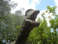 BIOPARCO di Sicilia - dinosauri - 17 luglio 2012  - Villagrazia di carini (1218 clic)