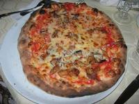 Pizza alla Parmigiana Sunshine - 11 agosto 2012  - Alcamo marina (394 clic)