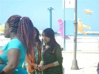 4° Festival Internazionale degli Aquiloni - I Soffi del Mondo, danze di differenti paesi a cura dell'Associazione Interculturale Narramondi Onlus - 24 maggio 2012  - San vito lo capo (211 clic)