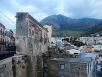 Ponte della Porta e scorcio città - 19 settembre 2012  - Castellammare del golfo (283 clic)