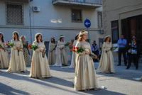 Corteo Storico di Santa Rita - 10ª Edizione - 27 maggio 2012 - Foto di Nicolò Pecoraro  - Castelvetrano (306 clic)