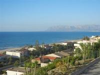 Zona Plaja - panorama est del Golfo di Castellammare - 6 giugno 2012  - Alcamo marina (360 clic)