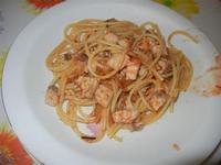 spaghetti con pesce spada e melanzane - 13 agosto 2012  - Alcamo marina (555 clic)