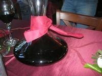 decanter vino - Baglio Arcudaci - 1 aprile 2012  - Bruca (1076 clic)