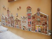 Cortile Carini - Laboratorio di Cocci per bambini - particolare - 6 settembre 2012  - Sciacca (403 clic)