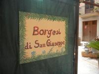 insegna mostra Borgesi di San Giuseppe - 22 aprile 2012  - Calatafimi segesta (467 clic)