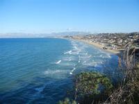 Golfo di Castellammare panorama del golfo dalla periferia est della città - 11 gennaio 2012  - Castellammare del golfo (415 clic)