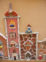 Cortile Carini - Laboratorio di Cocci per bambini - particolare - 6 settembre 2012  - Sciacca (392 clic)