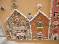 Cortile Carini - Laboratorio di Cocci per bambini - particolare - 6 settembre 2012  - Sciacca (390 clic)