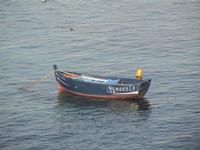 panorama dal Bastione Conca - barca - 13 maggio 2012  - Trapani (535 clic)