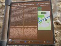 Museo Etno-Antropologico - cartello turistico - 22 aprile 2012  - Calatafimi segesta (397 clic)