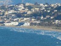 Zone Battigia e Tonnara panorama di Alcamo Marina visto dalla periferia est di Castellammare del Golfo - 11 gennaio 2012  - Alcamo marina (612 clic)