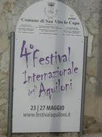 cartello 4° Festival Internazionale degli Aquiloni - 29 aprile 2012  - San vito lo capo (408 clic)