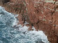 falesia e mare mosso - 15 aprile 2012  - Terrasini (601 clic)