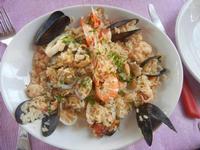risotto di mare - Frutti di Mare da Giovanni - 2 settembre 2012   - Balestrate (841 clic)