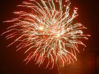 spettacolo pirotecnico - festeggiamenti in onore di Maria SS. dei Miracoli - 21 giugno 2012  - Alcamo (298 clic)