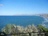 Golfo di Castellammare panorama del Golfo di Castellammare dalla periferia est della città - 11 gennaio 2012  - Castellammare del golfo (401 clic)