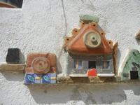 Cortile Carini - Laboratorio di Cocci per bambini - particolare - 6 settembre 2012  - Sciacca (346 clic)
