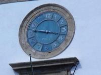 orologio - ex Collegio dei Gesuiti, sede del Comune di Sciacca - 6 settembre 2012  - Sciacca (542 clic)