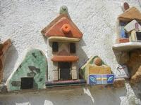 Cortile Carini - Laboratorio di Cocci per bambini - particolare - 6 settembre 2012  - Sciacca (379 clic)