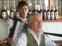 SIKANIA - Compagnia di canto e musica popolare - Santo Arceri (chitarra percussioni e voce) e  Michele Ditta (fisarmonica) - Bosco di Scorace - Il Contadino - 13 maggio 2012  - Buseto palizzolo (495 clic)