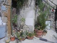 Cortile Carini - Laboratorio di Cocci per bambini - particolare - 6 settembre 2012  - Sciacca (407 clic)