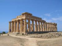 Collina dei Templi orientali, il Tempio E  - Selinunte (6188 clic)